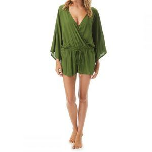 Vince Camuto Cover Up Romper - Sanremo Shades